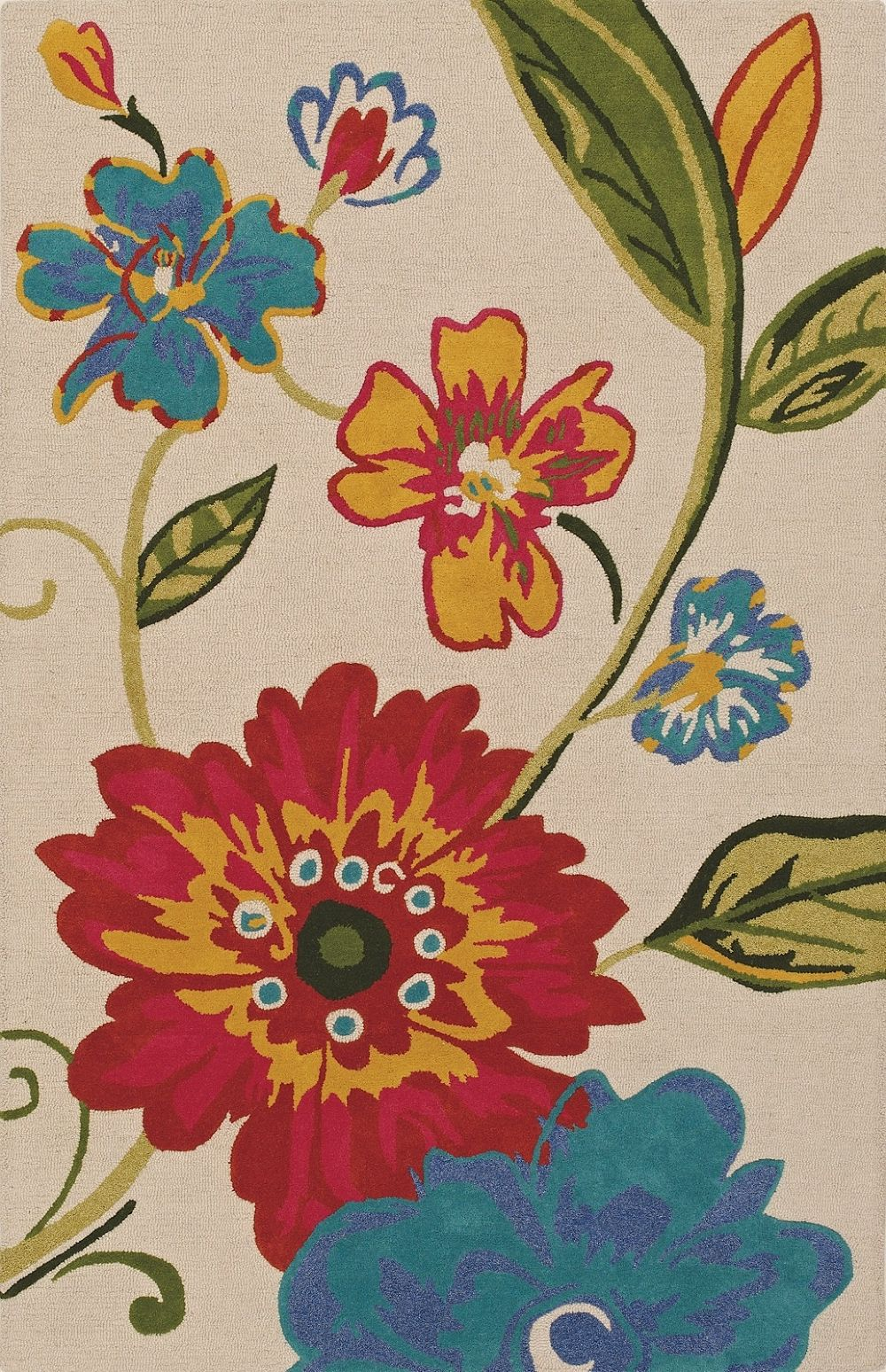 dalyn serendipity country & floral area rug collection