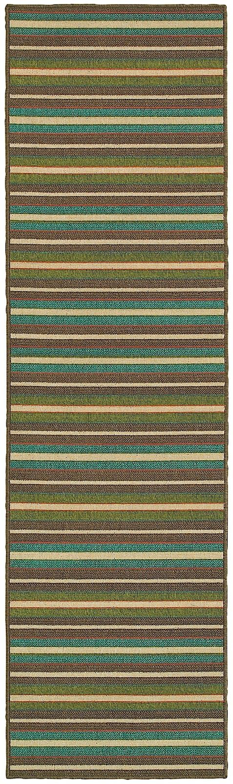 oriental weavers seaside solid/striped area rug collection