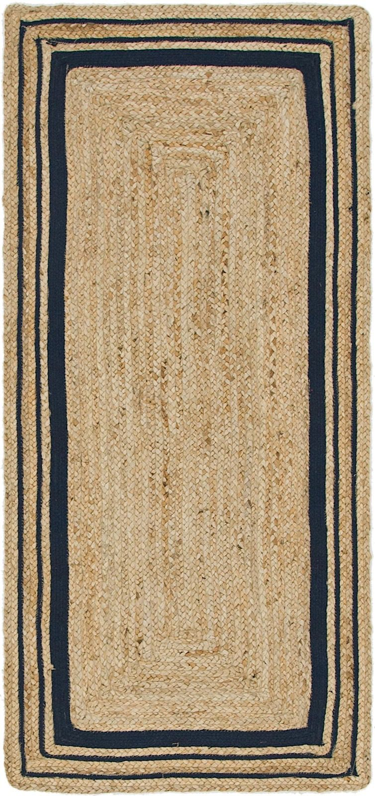 unique loom braided jute braided area rug collection