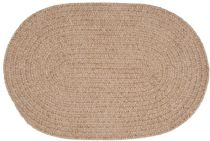 Colonial Mills Braided Barefoot Chenille Bath Area Rug Collection