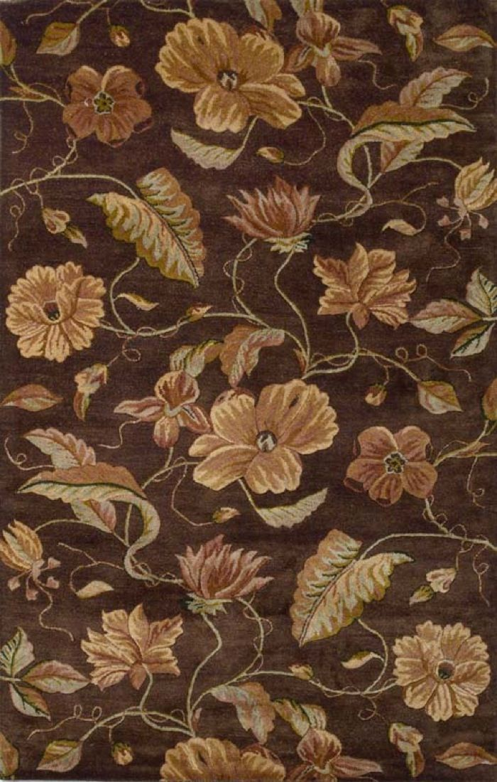 kas capri country & floral area rug collection