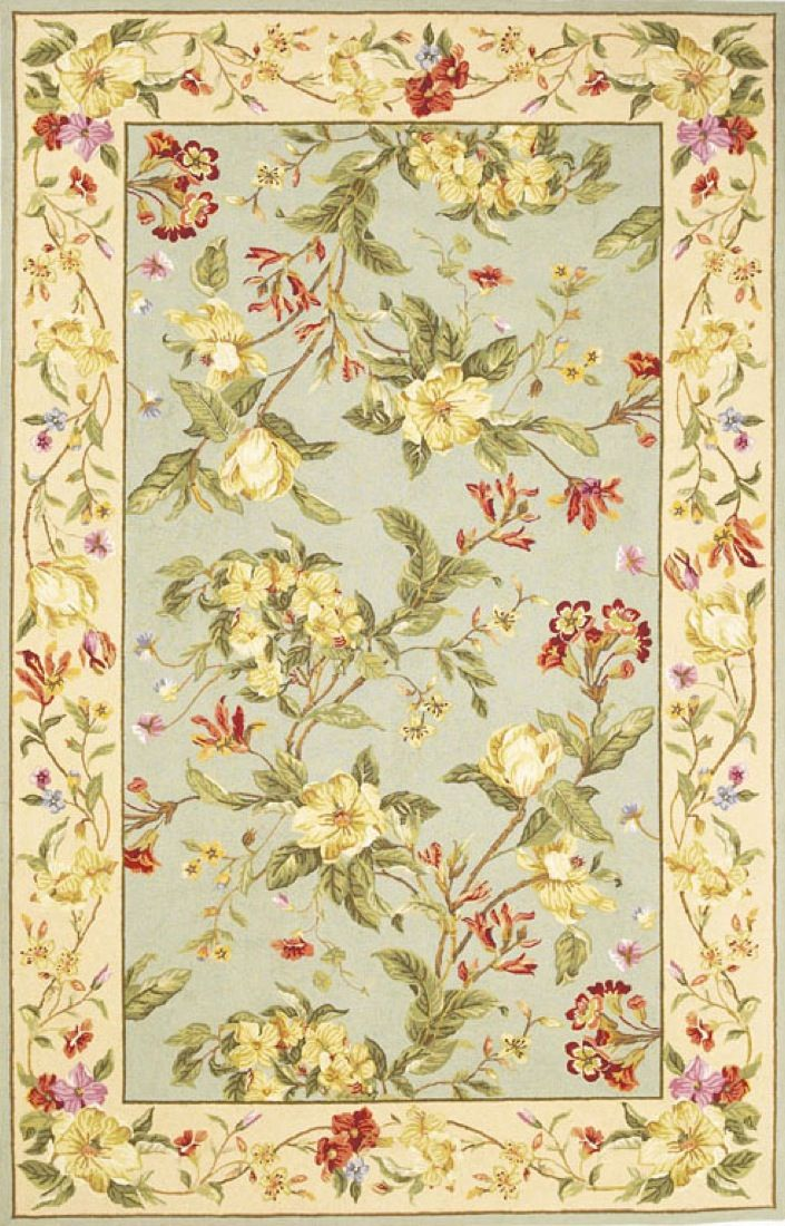kas winslow country & floral area rug collection