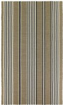 Couristan Solid/Striped Bar Harbor Area Rug Collection