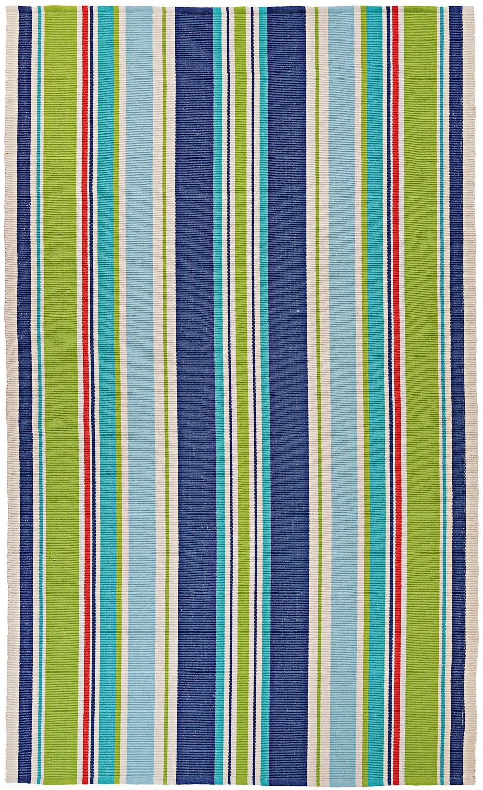 couristan bar harbor solid/striped area rug collection