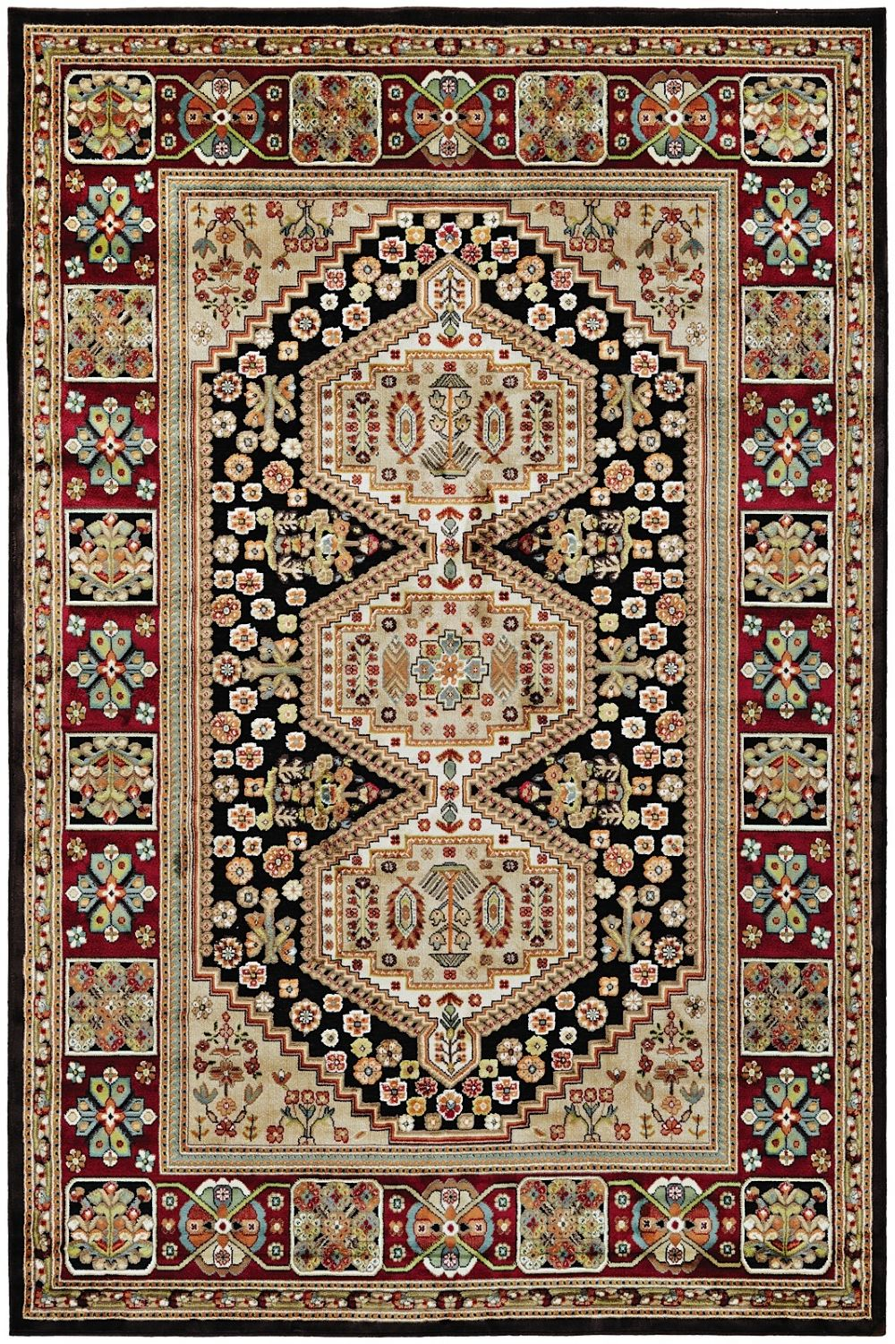 couristan cire southwestern/lodge area rug collection