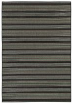 Couristan Solid/Striped Monaco Area Rug Collection
