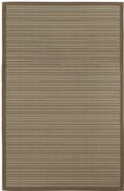 Couristan Solid/Striped Five Seasons Area Rug Collection