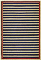 Couristan Solid/Striped Covington Area Rug Collection