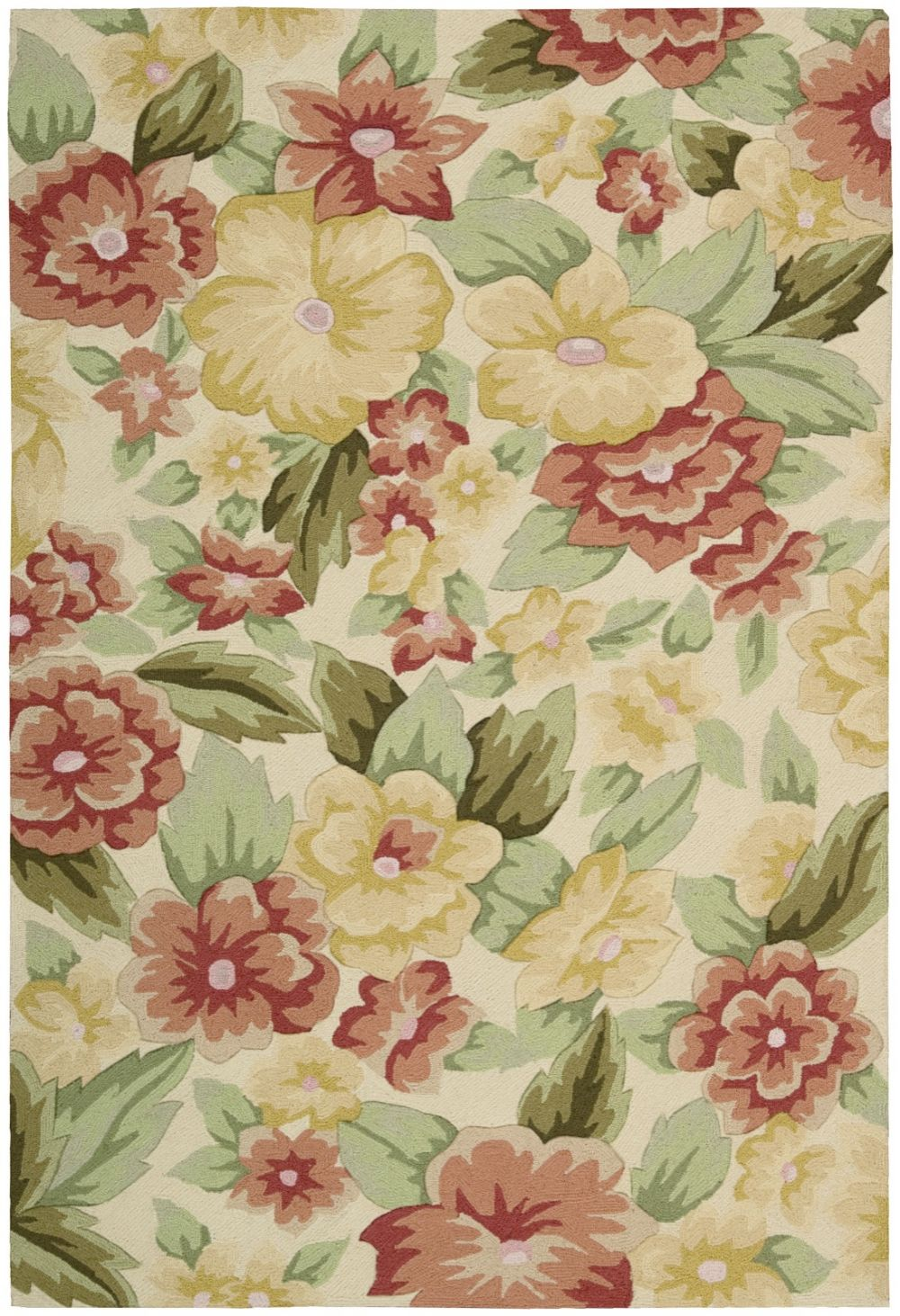 Nourison Fantasy Country Floral Area Rug Collection