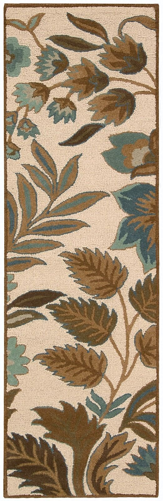 nourison in bloom country & floral area rug collection