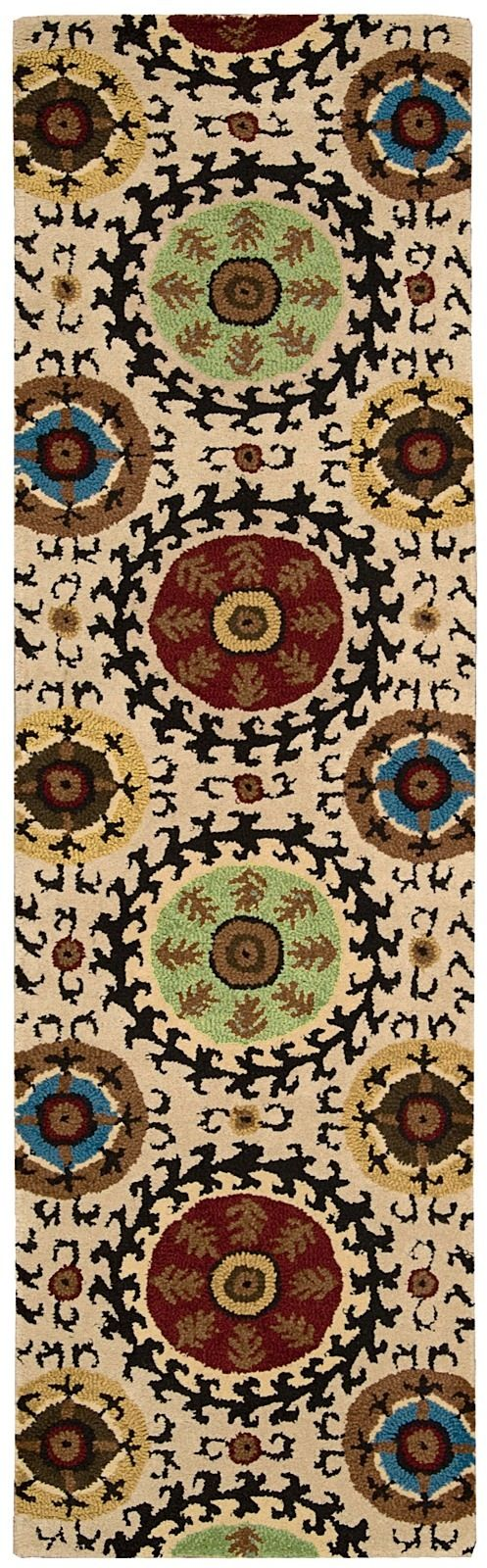 nourison suzani contemporary area rug collection