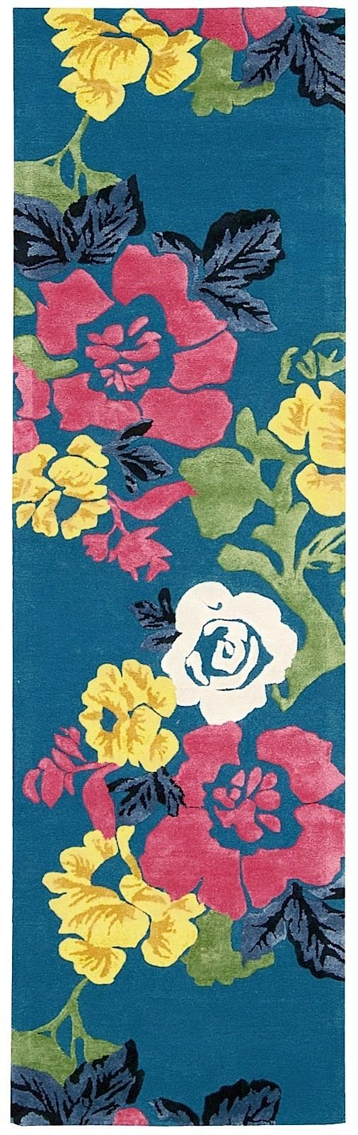 nourison wildflowers country & floral area rug collection
