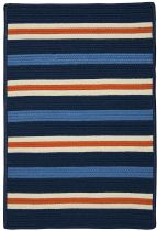 Colonial Mills Braided Painter Stripe Area Rug Collection