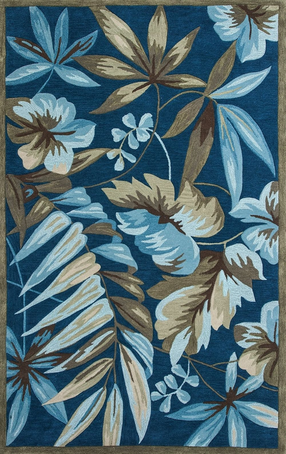kas coral country & floral area rug collection
