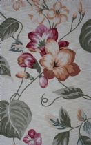 Kas Country & Floral Coral Area Rug Collection