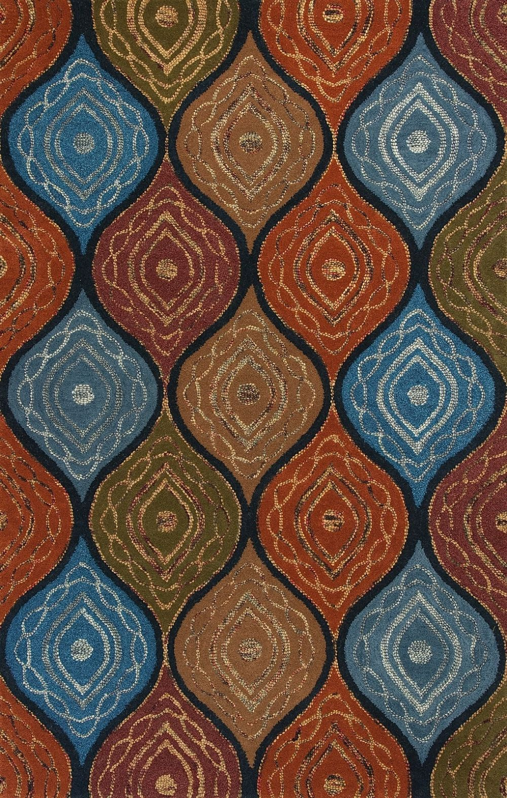 kas geo contemporary area rug collection