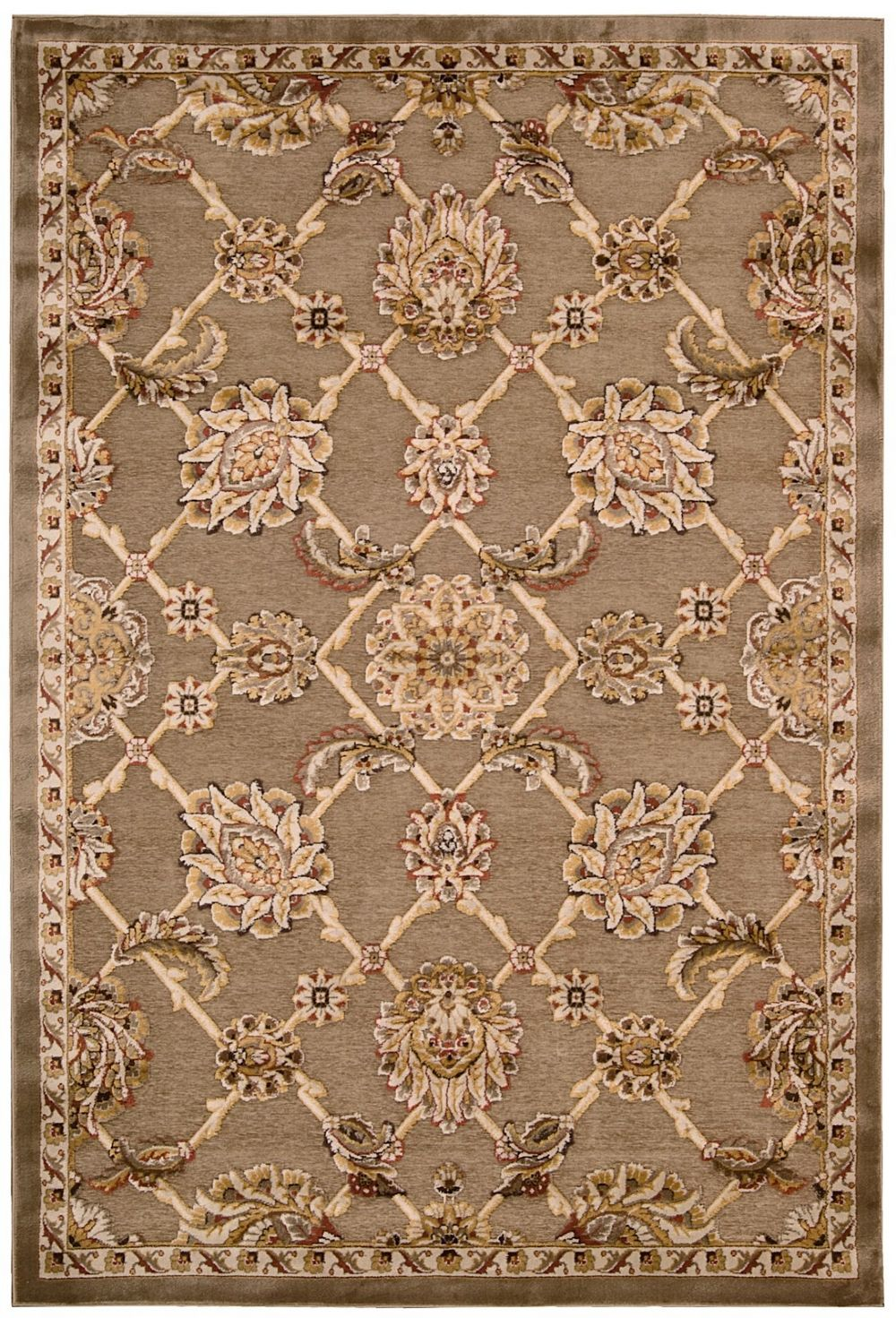 kathy ireland bel air buckingham transitional area rug collection