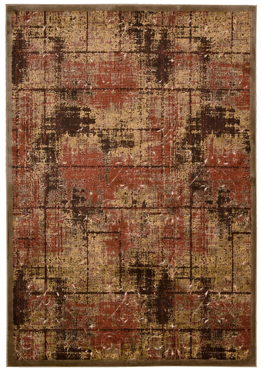 kathy ireland bel air montecito contemporary area rug collection