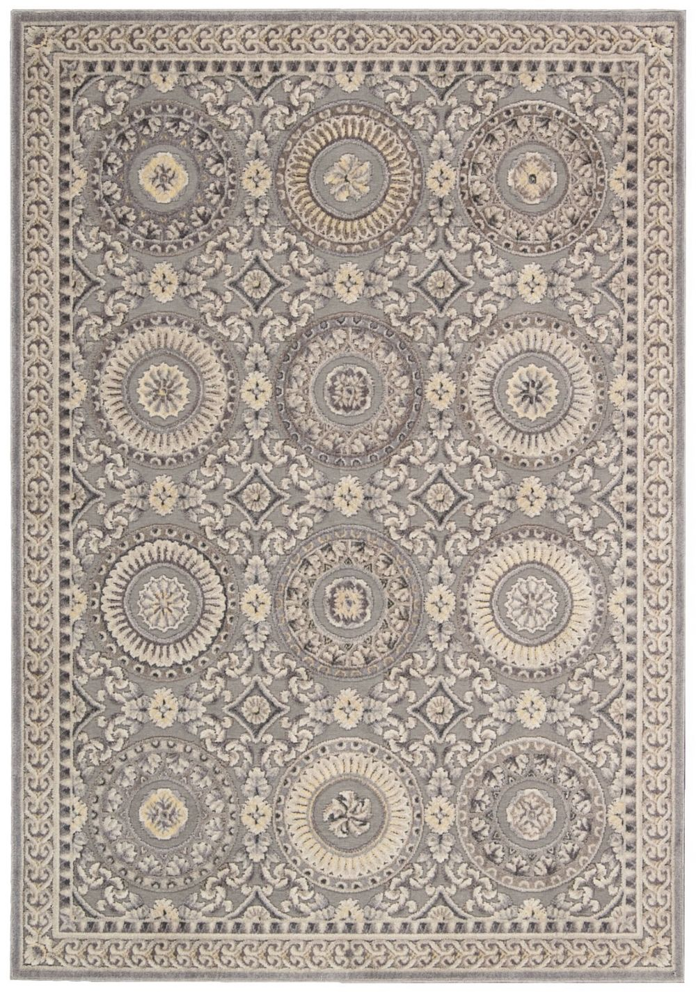 kathy ireland villa retreat celestial elegance european area rug collection