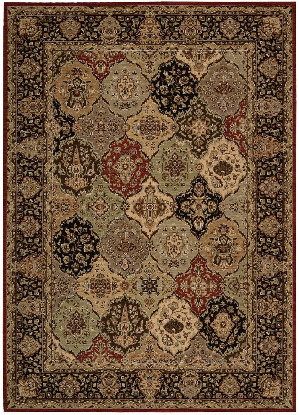 kathy ireland lumiere persian tapestry traditional area rug collection