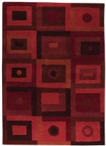 MA Trading Contemporary Calico Area Rug Collection