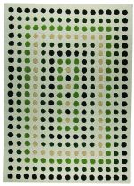 MA Trading Contemporary Dots Area Rug Collection