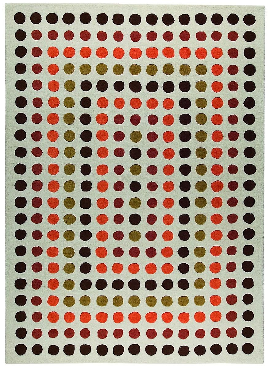 ma trading dots contemporary area rug collection