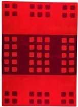 MA Trading Contemporary Domino Area Rug Collection