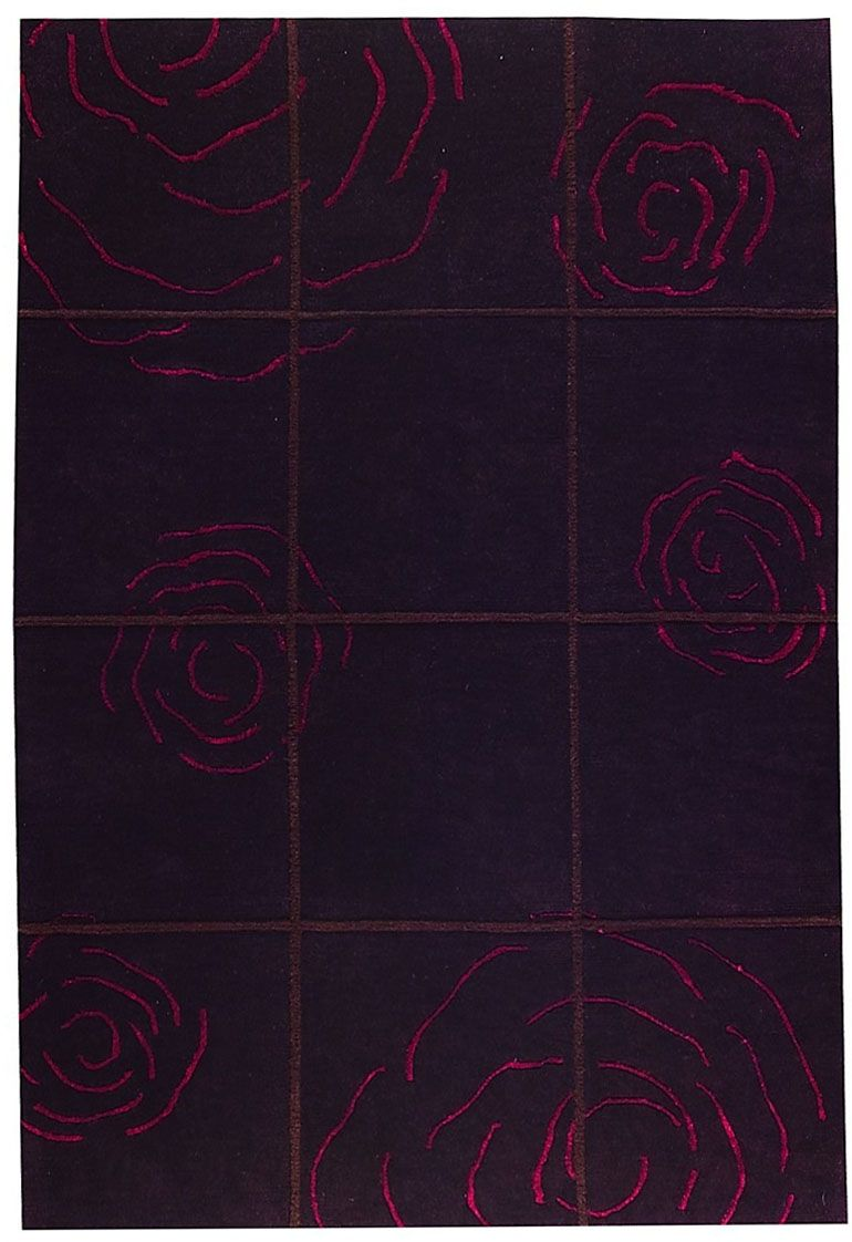 ma trading rose contemporary area rug collection