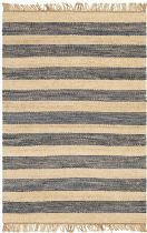 Surya Solid/Striped Davidson Area Rug Collection