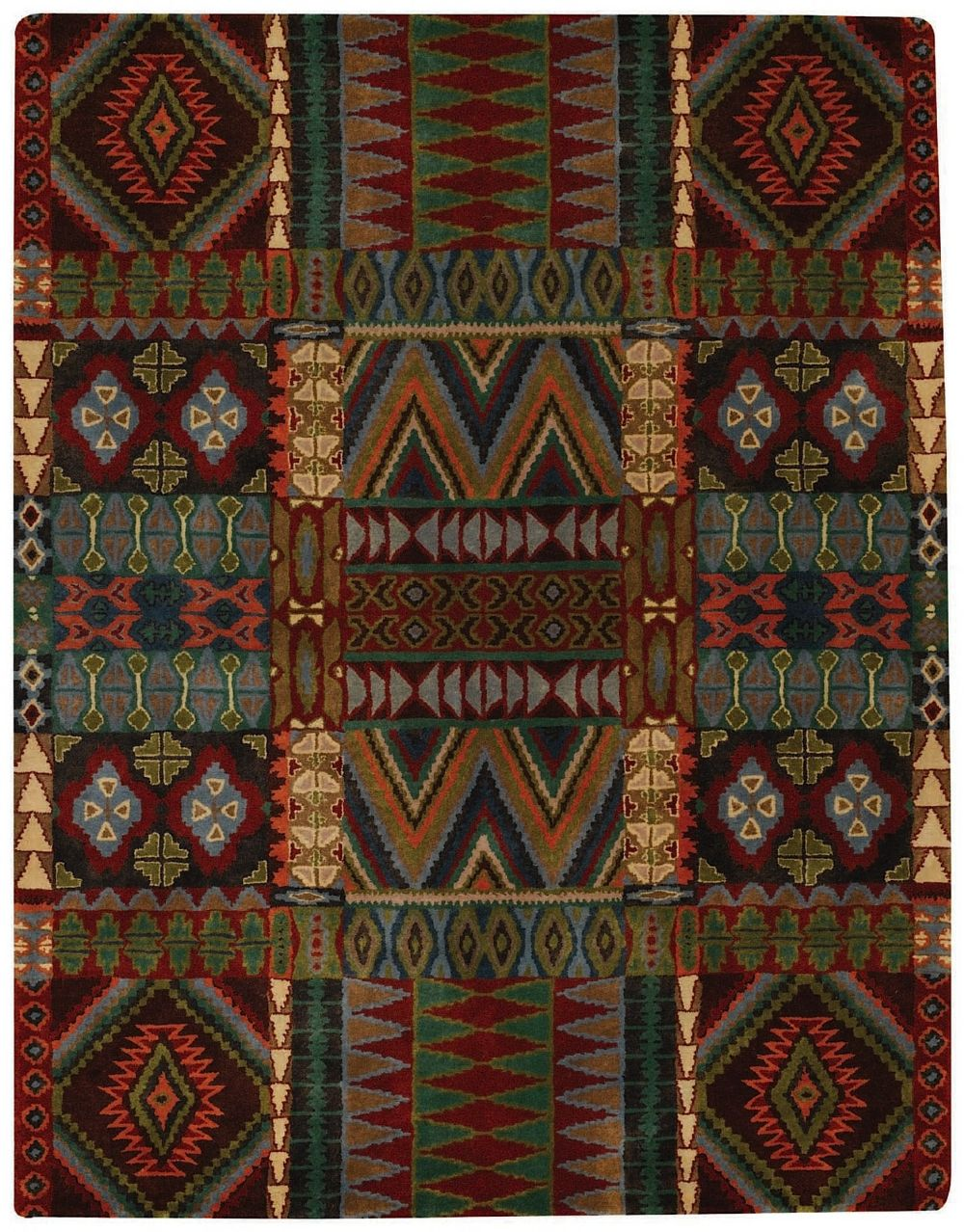 capel big horn southwestern/lodge area rug collection