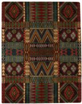 Rectangle rug, Hand Tufted rug, Southwestern/Lodge, Big Horn, Capel rug