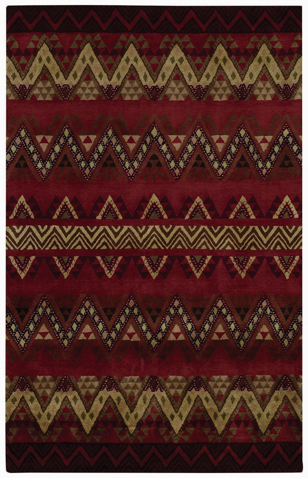 capel fort apache southwestern/lodge area rug collection