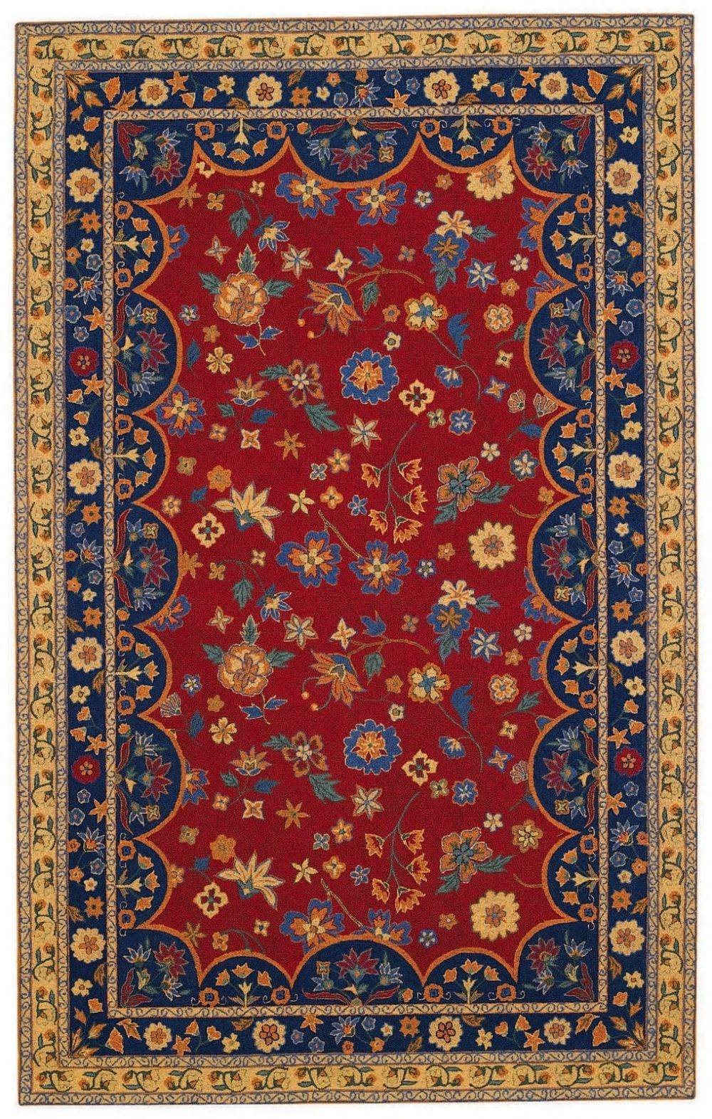 capel lorraine transitional area rug collection