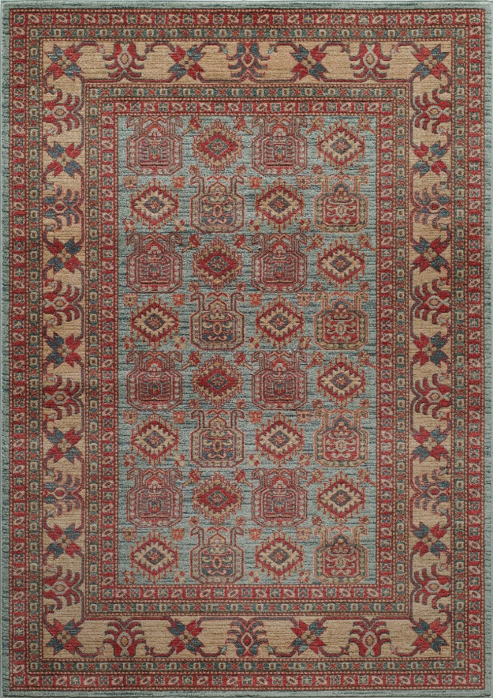 momeni ghazni traditional area rug collection