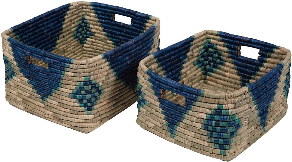 surya ferry (2 piece set) braided home accent collection