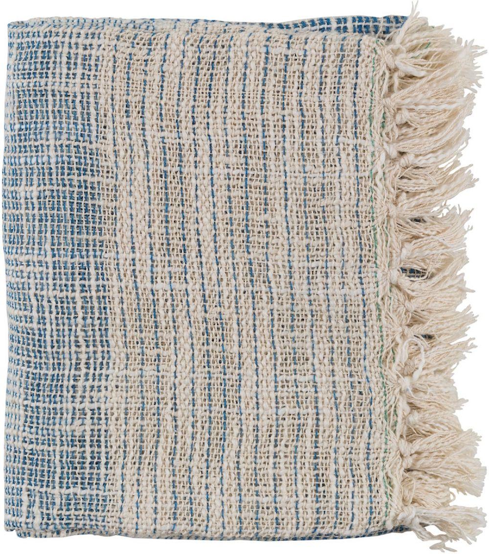surya kymani natural fiber throw collection