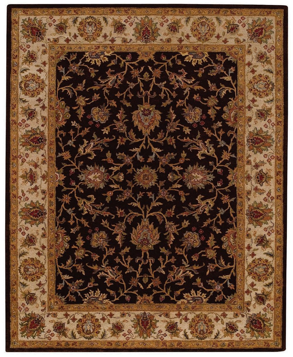 capel monticello-keshan transitional area rug collection