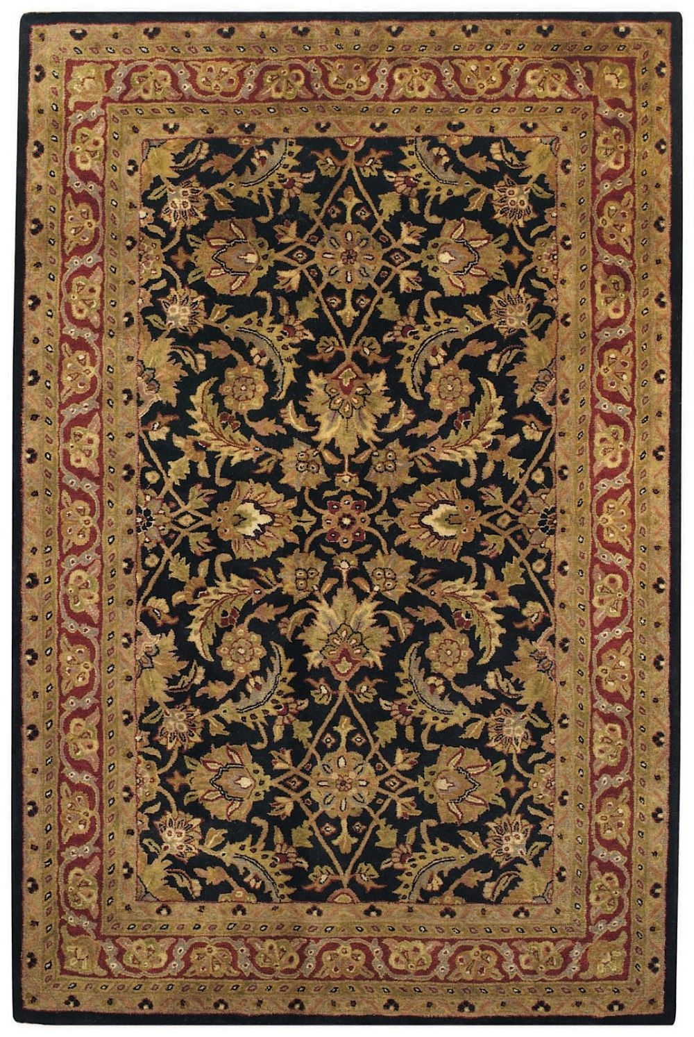 capel piedmont-keshan transitional area rug collection