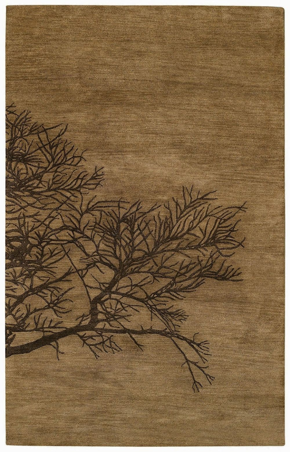 capel desert plateau-shadow branch contemporary area rug collection