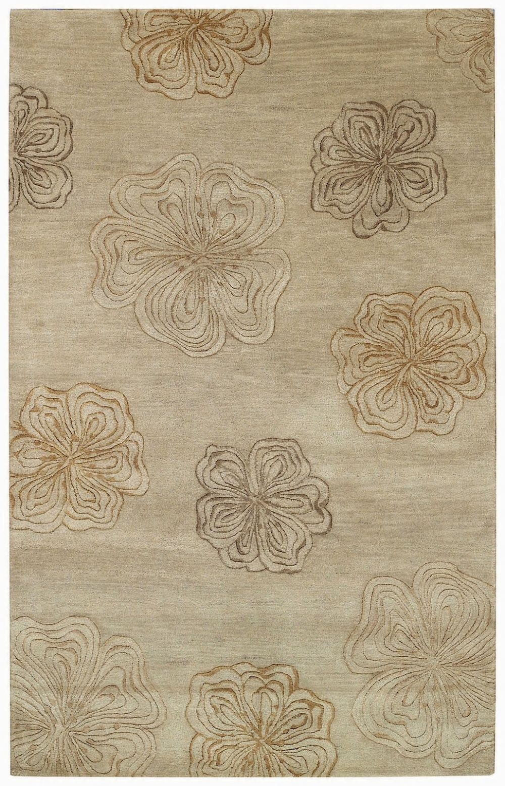 capel desert plateau-hibiscus contemporary area rug collection