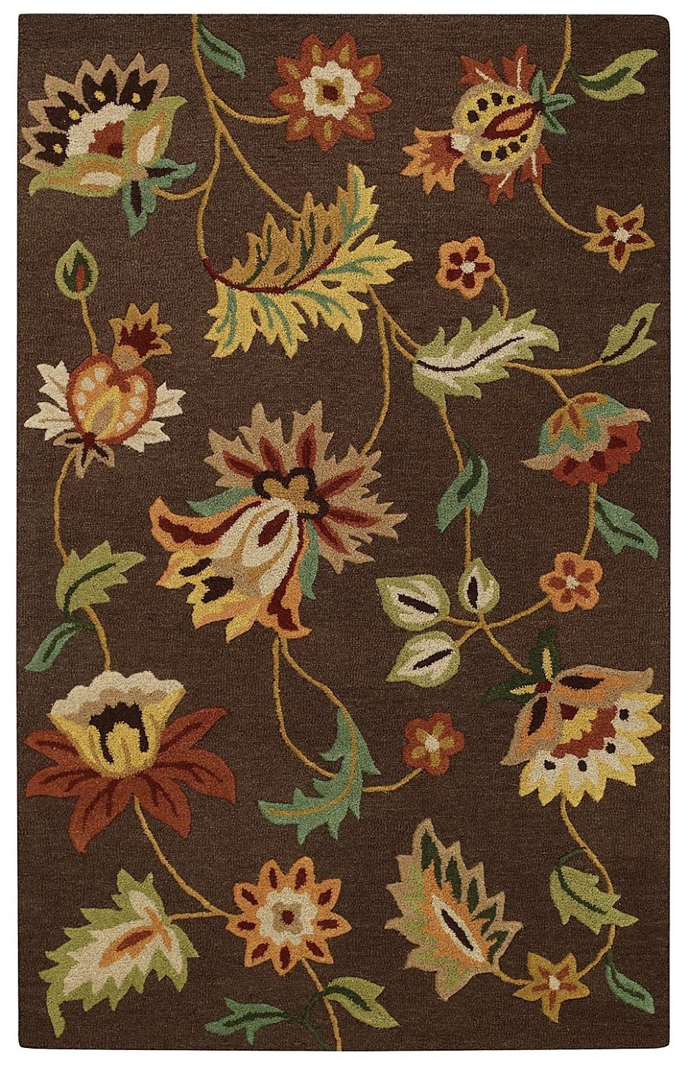 capel garden flowers transitional area rug collection