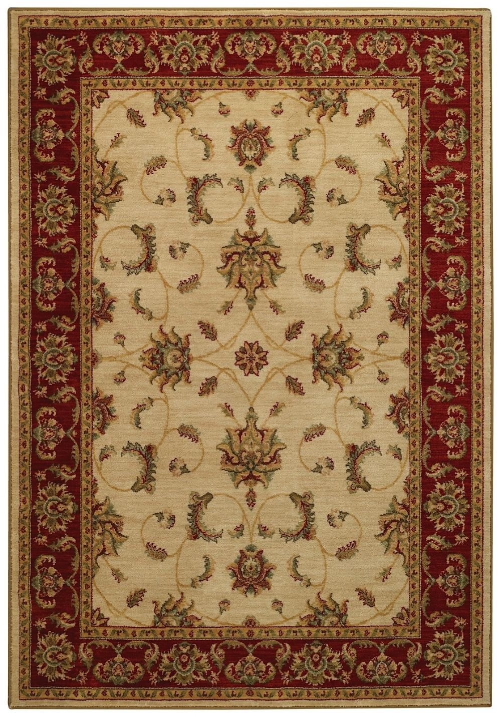 capel laud-acanthus traditional area rug collection