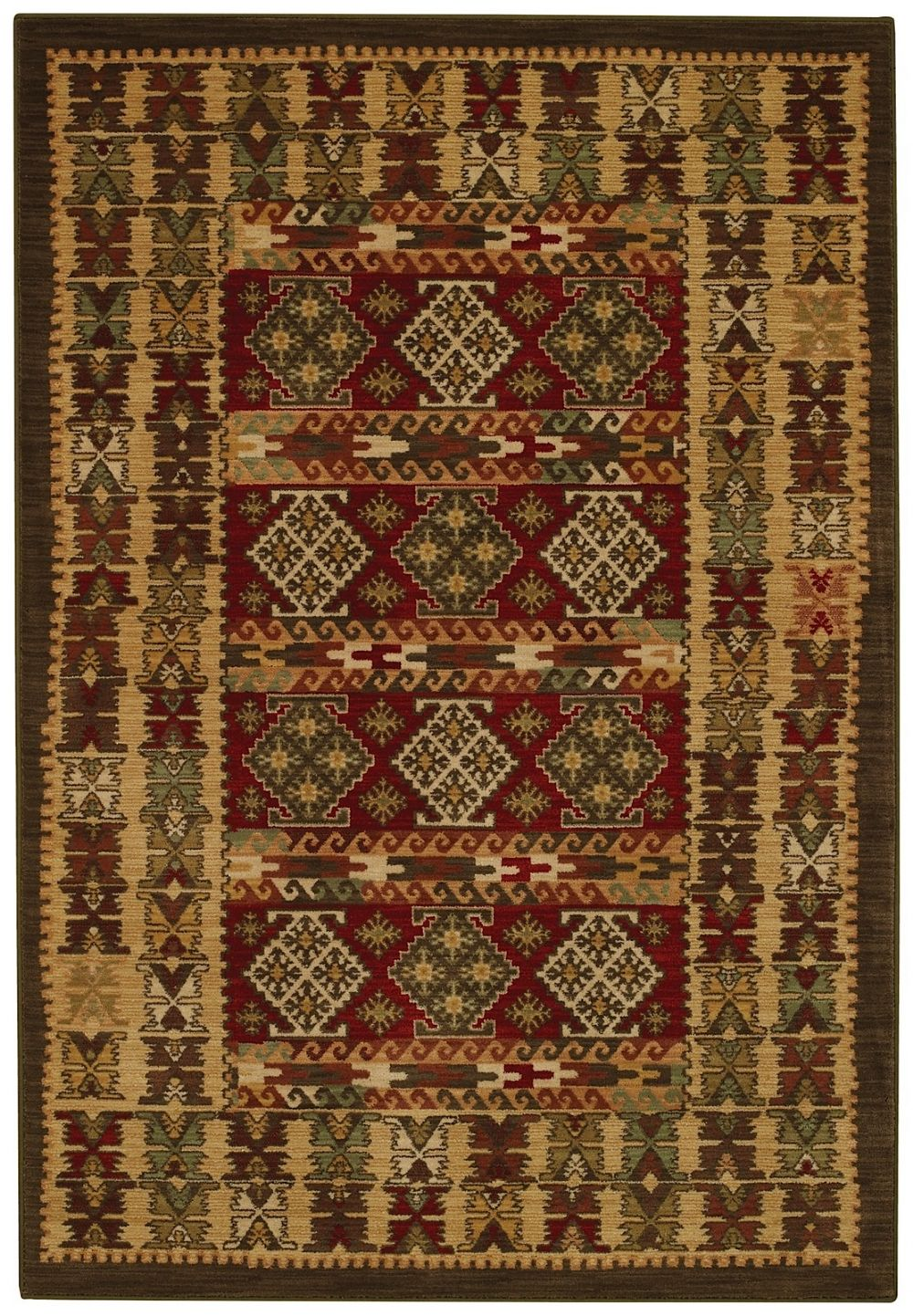 capel laud-adobe southwestern/lodge area rug collection