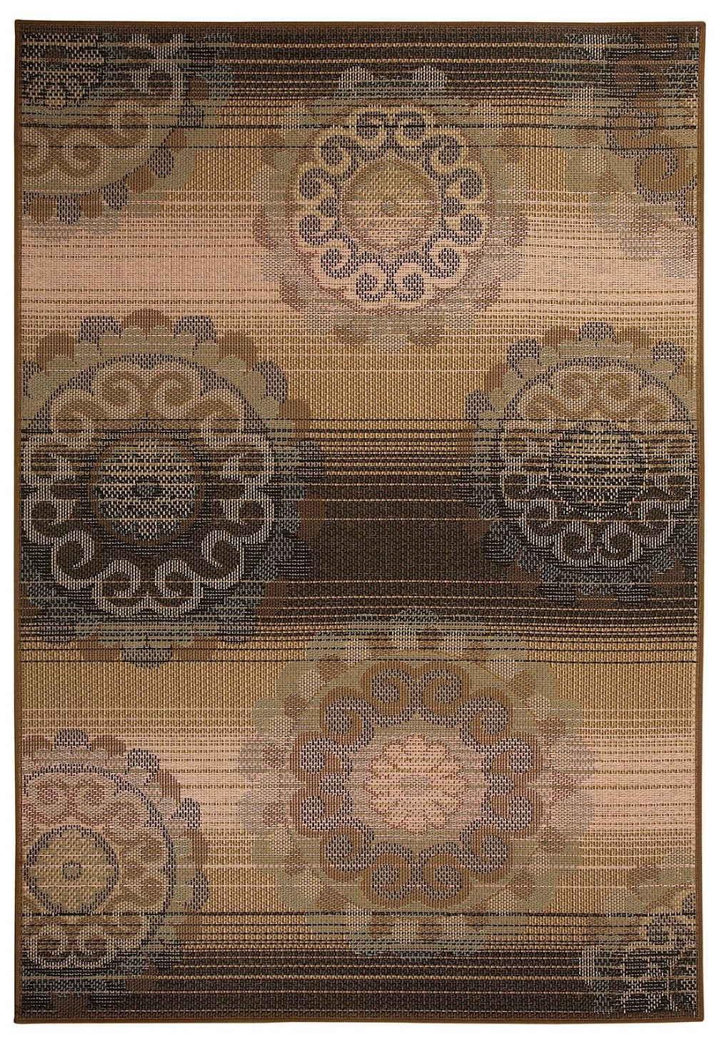 capel portia-medallion contemporary area rug collection