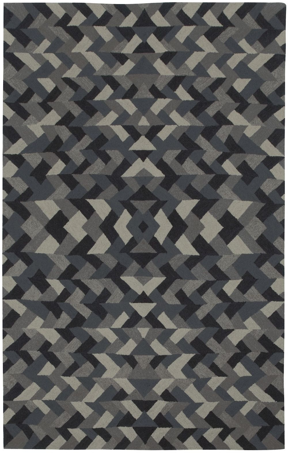 capel charcoal-link contemporary area rug collection