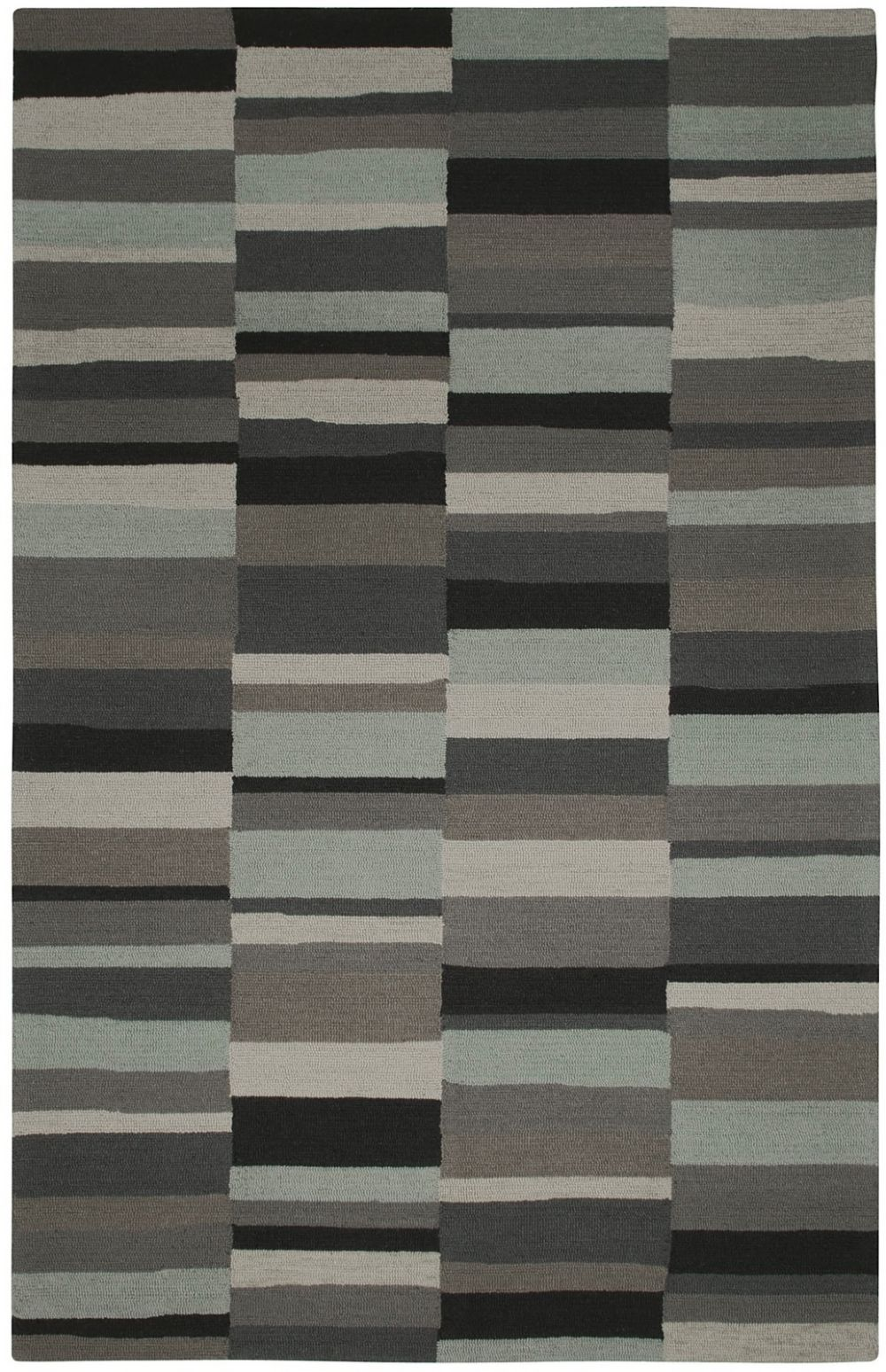 capel charcoal-stripe contemporary area rug collection