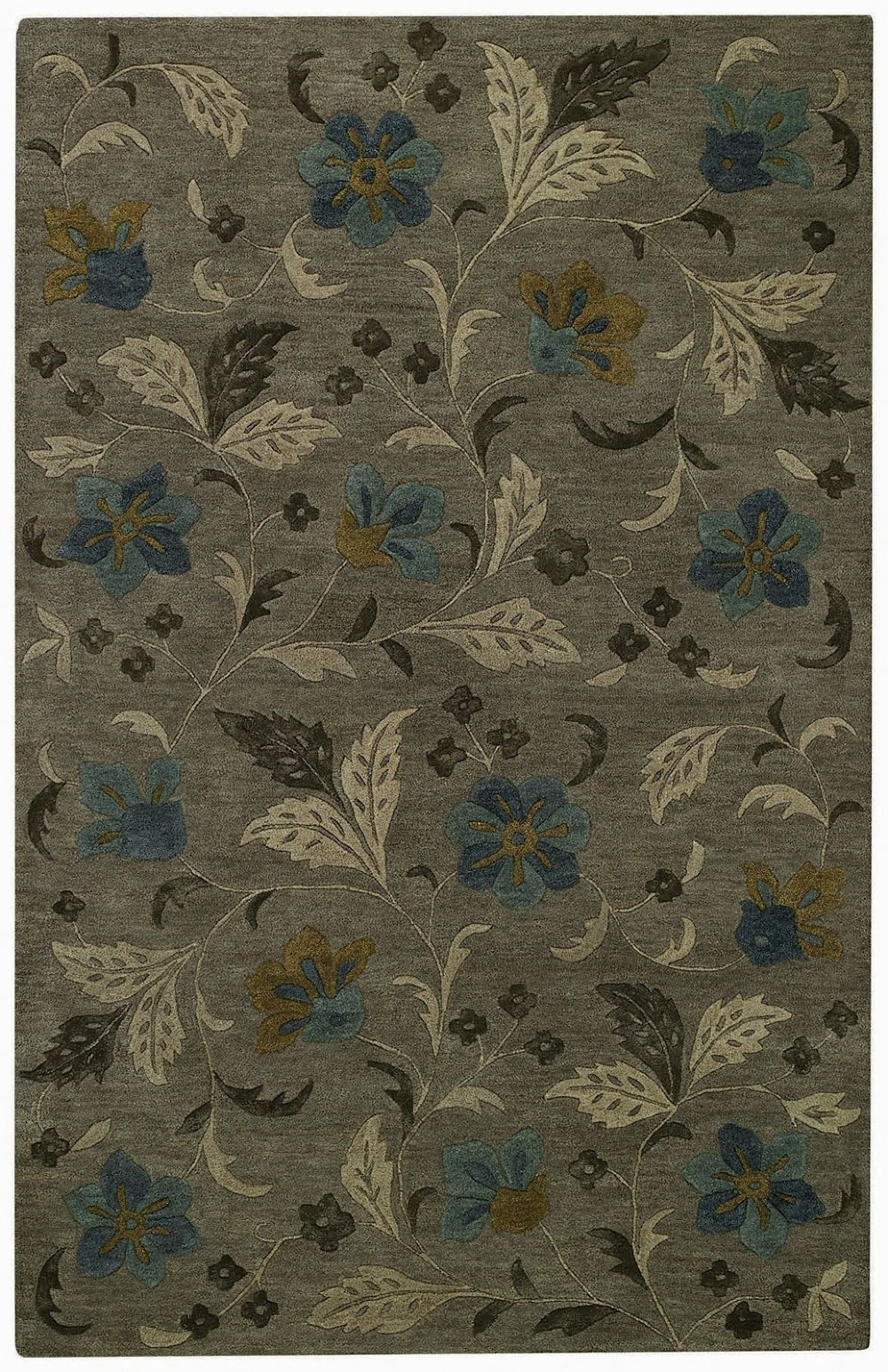 capel brock haven-bluebells contemporary area rug collection
