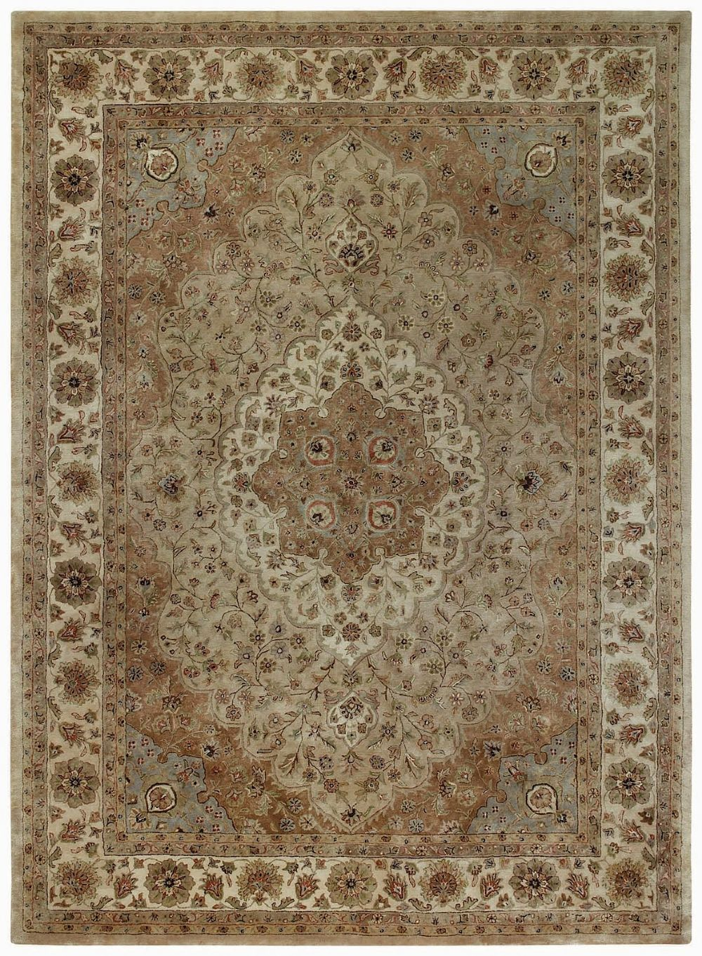 capel forest park-tabriz european area rug collection