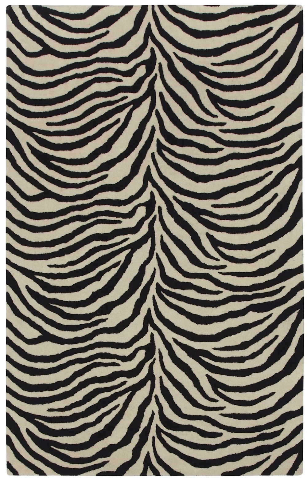 capel expedition-zebra animal inspirations area rug collection